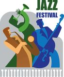 Jazz festival. Royalty Free Stock Images