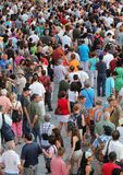 Jazz festival Crowd in Montreal Stock Photos