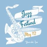 Jazz Festival Poster Photo libre de droits