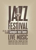 Jazz festival Royalty Free Stock Images