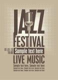 Jazz festival royalty free illustration