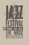Jazz festival Stock Image