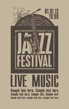 Jazz festival Stock Photography
