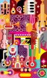 Jazz Festival Poster Stock Image