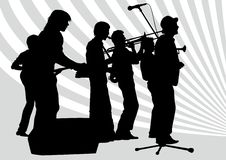 Jazz group Stock Images
