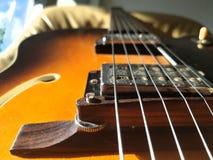 Jazz Guitar Lizenzfreie Stockbilder