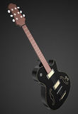 Jazz guitar. 3d high quality rendering Royalty Free Stock Photography