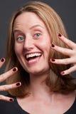 Jazz hands Stock Image