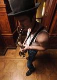 Jazz ist das Leben Stockbilder