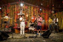 Jazz jam session Museum of Modern Art, Salvador, Bahia, Brazil royalty free stock images