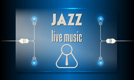 Jazz live music Stock Image