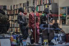 Jazz & livros Fotos de Stock Royalty Free