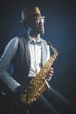 Jazz man Royalty Free Stock Image