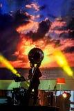 Jazz Minions-Band führen im Jazz im Gedächtnis bei Bangsaen durch Stockfotografie