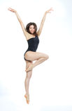 Jazz modern  woman ballet dancer Stock Images