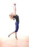 Jazz moderne de danse Photographie stock libre de droits