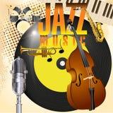 Jazz Music Photographie stock
