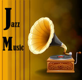 Jazz Music Royaltyfri Bild