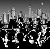 Jazz music band performing in New York Royalty Free Stock Photo