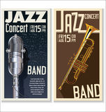 Jazz music festival, poster Royalty Free Stock Photography
