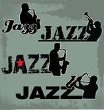 Jazz Music headline Stock Photography
