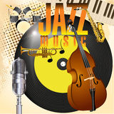 Jazz music Stock Photography