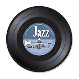 Jazz music vinyl record royalty free stock photography