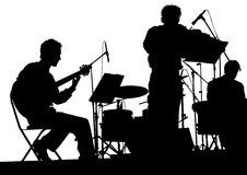 Jazz musical group Royalty Free Stock Photography