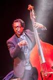 Jazz musician Aaron James at Kaunas Jazz 2015 Stock Image