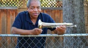 Jazz  musician. Stock Image