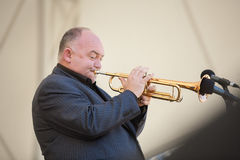 Jazz musician James Morrison Royalty Free Stock Image