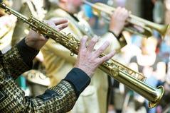 Jazz musicians Stock Photos