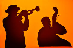Jazz musicians Stock Photography