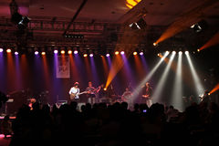 Jazz. Musicians were performed in Jakarta, Indonesia Stock Photo