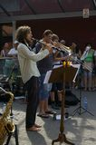 Jazz nas ruas 2015 Fotos de Stock Royalty Free