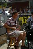 Jazz nas ruas 2015 Foto de Stock Royalty Free