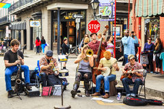Jazz In New Orleans Royalty Free Stock Image