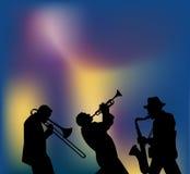 Jazz Night Royalty-vrije Stock Afbeelding