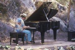 Jazz pianist Roger Kellaway, Royalty Free Stock Photos