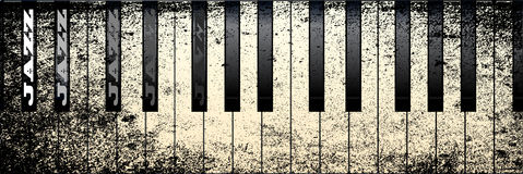 Jazz Piano Immagine Stock