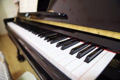 Jazz Piano Keys Royalty Free Stock Photography