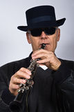 jazz piosenkarz Obraz Royalty Free