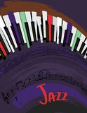 Jazz Poster Background illustration libre de droits