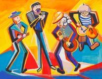 Jazz quartet Stock Photo