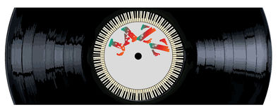 Jazz Record Section Royalty Free Stock Image