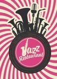 Jazz restaurant Stock Images