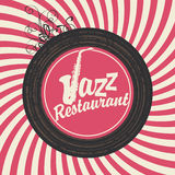 Jazz restaurant Royalty Free Stock Images