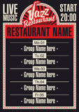 Jazz restaurant Stock Photo