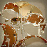 Jazz rock background. Abstract musical jazz rock background drum kit Stock Image