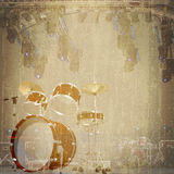 Jazz Rock Background Stock Images